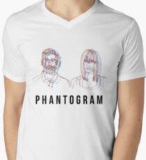 Phantogram Men's V-Neck T-Shirt