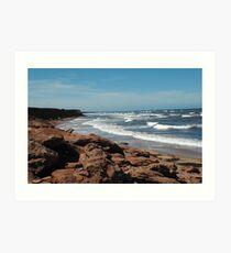 Atlantic Coast Art Print