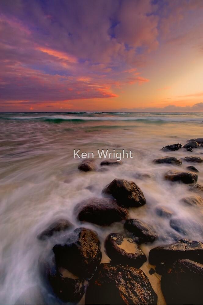 Burleigh candy dawn by Ken Wright