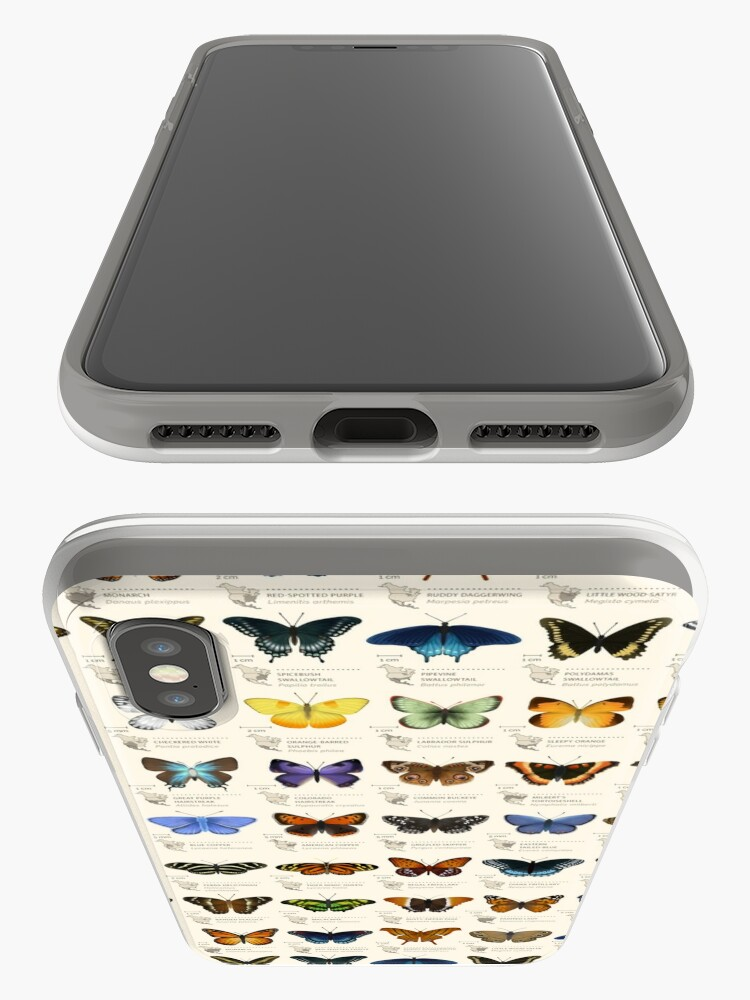Alternate view of Butterflies of North America iPhone Cases & Covers