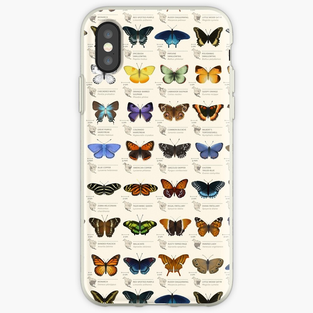 Butterflies of North America iPhone Cases & Covers