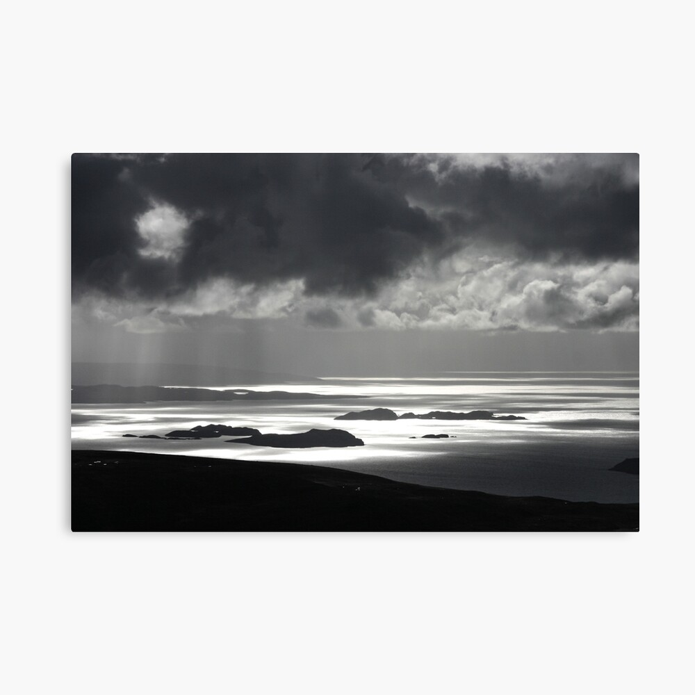 The Summer Isles from Stac Pollaidh Canvas Print