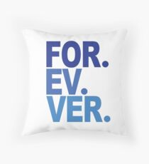 Forever. For-ev-ver. Sandlot Design Throw Pillow