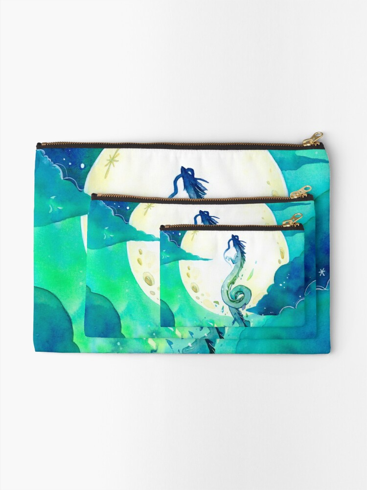 Alternate view of God of Rivers Zipper Pouch