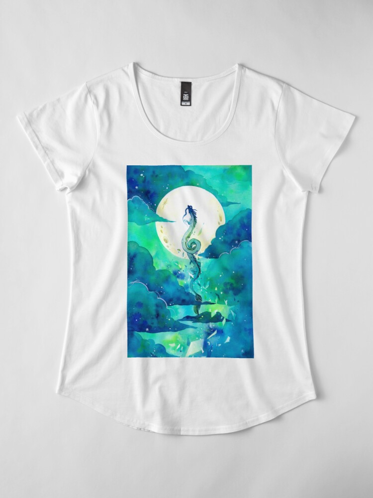 Alternate view of God of Rivers Premium Scoop T-Shirt