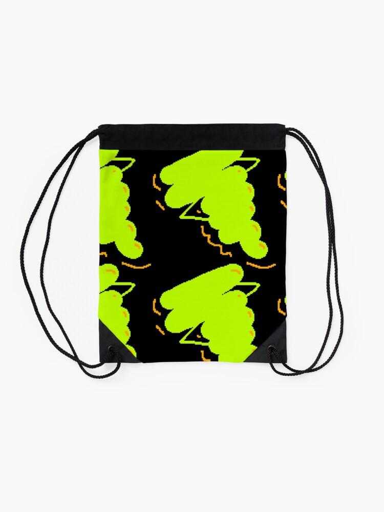 Alternate view of Electric Gak Drawstring Bag
