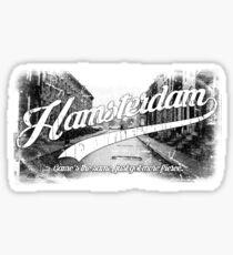 Hamsterdam - Cloud Nine Edition (White) Sticker