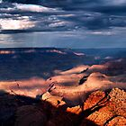 Dawn Over The Grand Canyon by saxonfenken