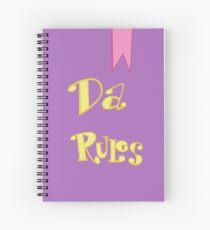 Da Rules Spiral Notebook