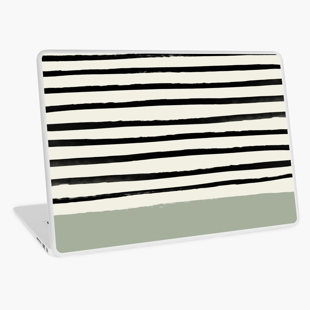 Sage x Stripes Laptop Skin