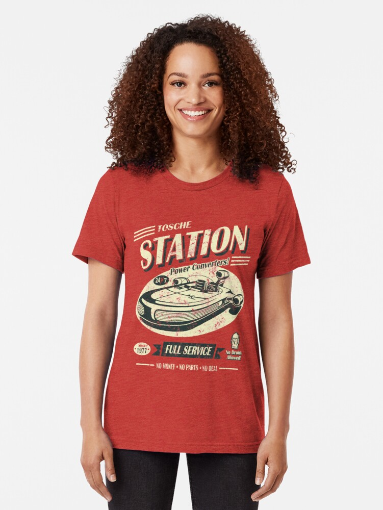 Alternate view of Tosche Station Tri-blend T-Shirt