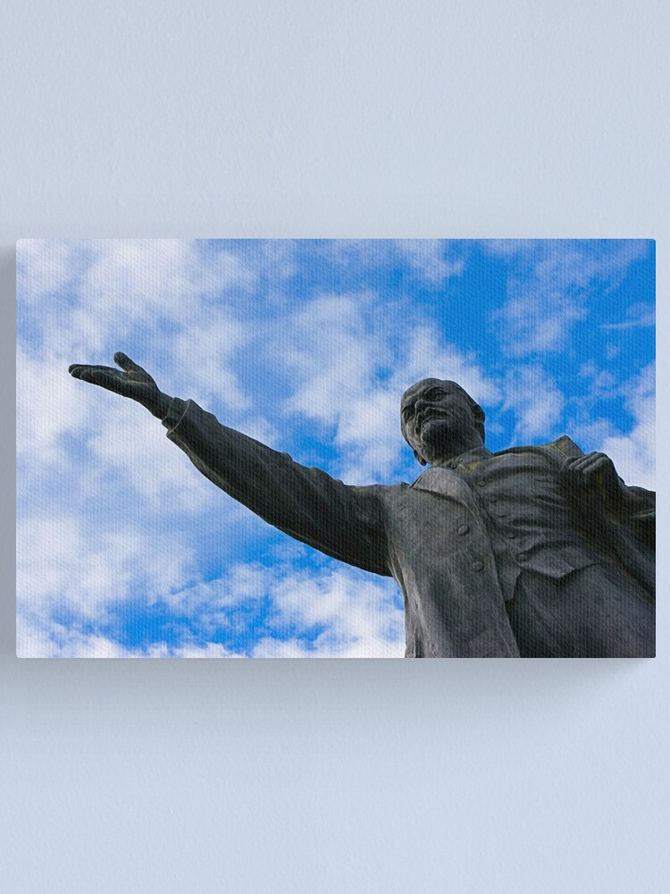 Alternate view of Lenin Canvas Print