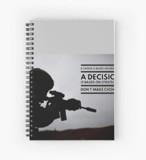 Warrior Decision Spiral Notebook