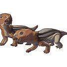 Diictodon feliceps by Sean Closson