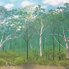 Scribbly Gum Woodland by Paula Peeters