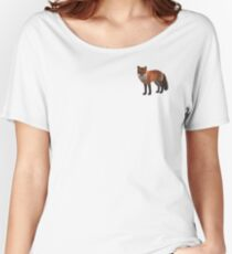 Fox Illustration Relaxed Fit T-Shirt