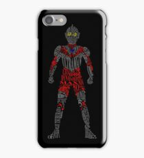 Ultraman of Many Words iPhone Case/Skin