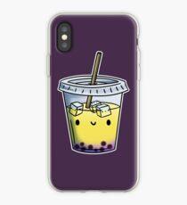 Chibi Intersex Bubble Tea iPhone Case