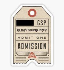 Glory Sound Prep Jon Bellion Tour Ticket Sticker