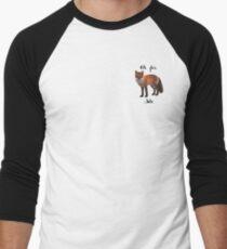 Oh For Fox Sake Baseball ¾ Sleeve T-Shirt