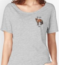 Oh For Fox Sake Relaxed Fit T-Shirt