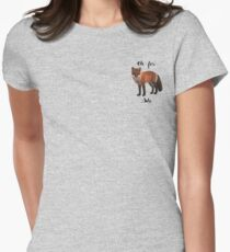 Oh For Fox Sake Fitted T-Shirt