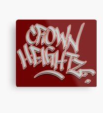 Crown Heightz Metal Print