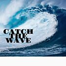 Catch The Wave T-shirt by M. I. Speer