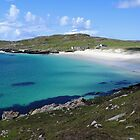 White Sands and Turquoise Waters - Isle of Harris by Kathryn Jones