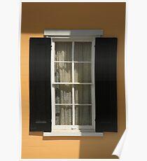 Flemington, NJ - Yellow Window Poster
