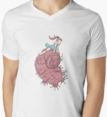 Water Bear and Water Baby Men's V-Neck T-Shirt