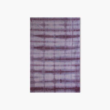 SKU 609 Shibori Style - Violet 1 Art Board Print