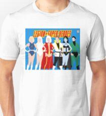 Legion of Super-Heroes Minimal 4 Unisex T-Shirt