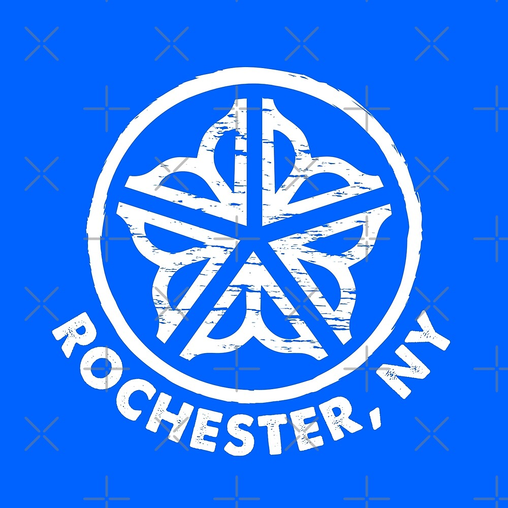 Officially Licensed Rochester Circle Logo T-Shirt by Patrick King
