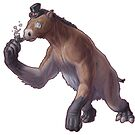 Fancy Chalicotherium goldfussi by Sean Closson