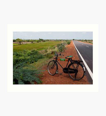 Bicycle, Tamil Nadu Art Print