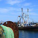 Old fishing ship by Vitaliy Gonikman