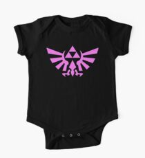 Triforce (Pink) One Piece - Short Sleeve