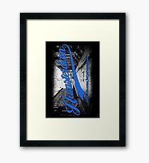 Hamsterdam - Cloud Nine Edition (Blue) Framed Print