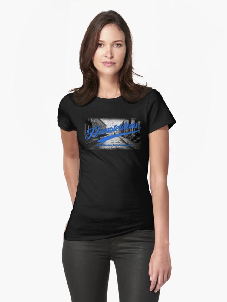 Hamsterdam - Cloud Nine Edition (Blue) Womens T-Shirt Front