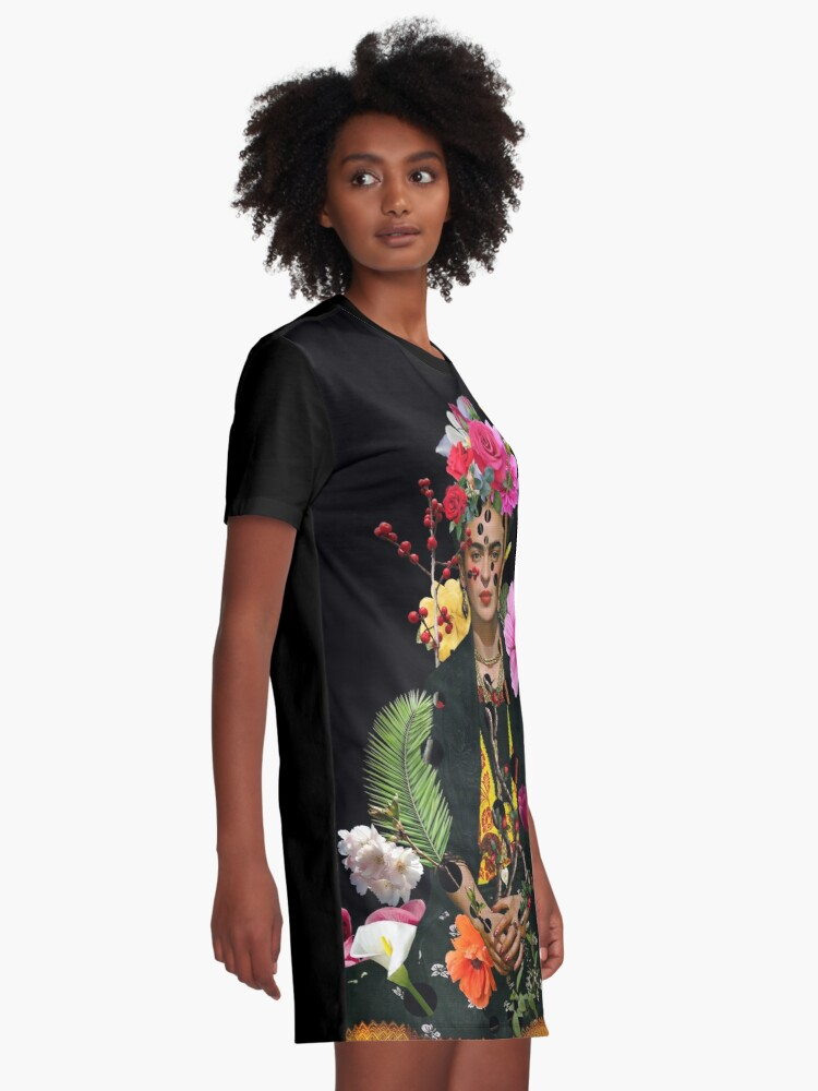 Alternate view of I want to be inside your darkest everything Graphic T-Shirt Dress