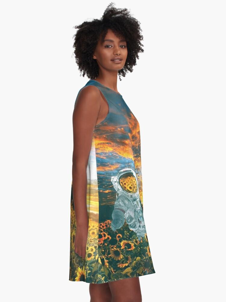 Alternate view of In a galaxy far, far away A-Line Dress