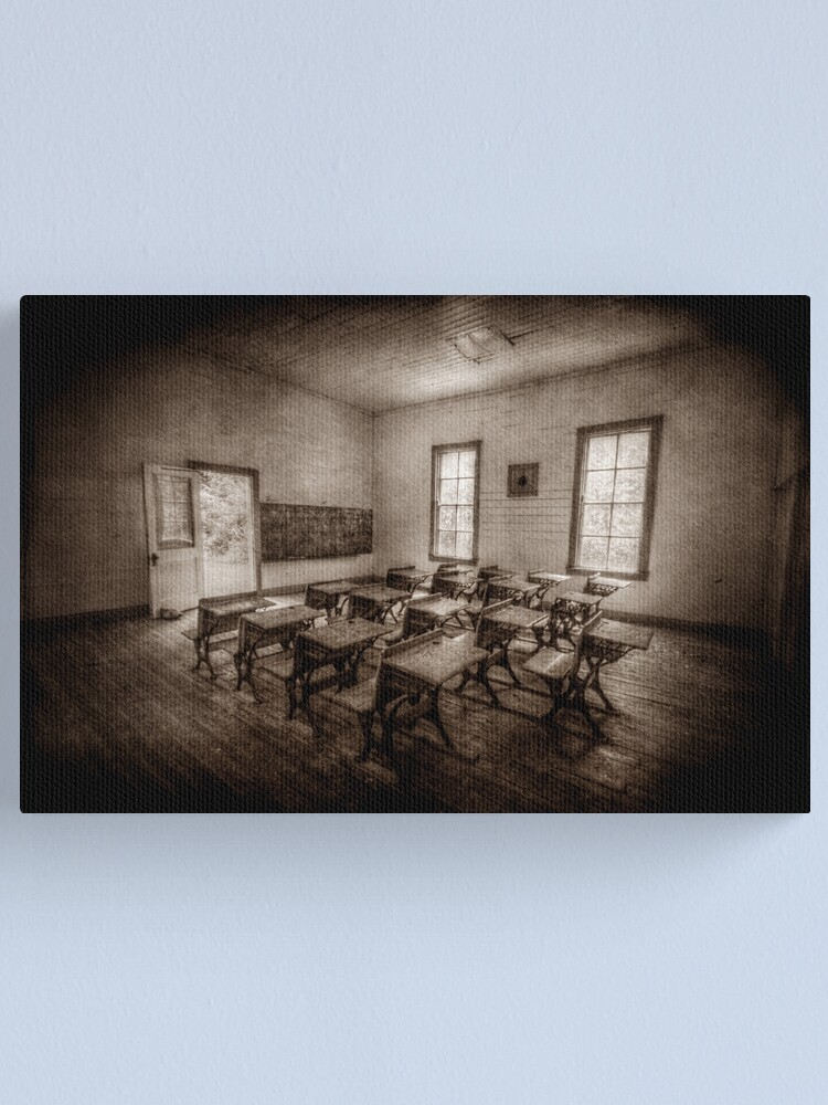 Alternate view of One Room Canvas Print