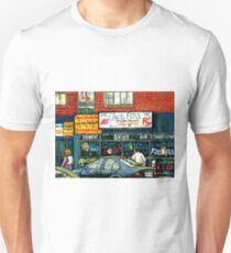 VINTAGE MONTREAL KOSHER RESTAURANTS CHEZ FOXY RUE VICTORIA T-Shirt