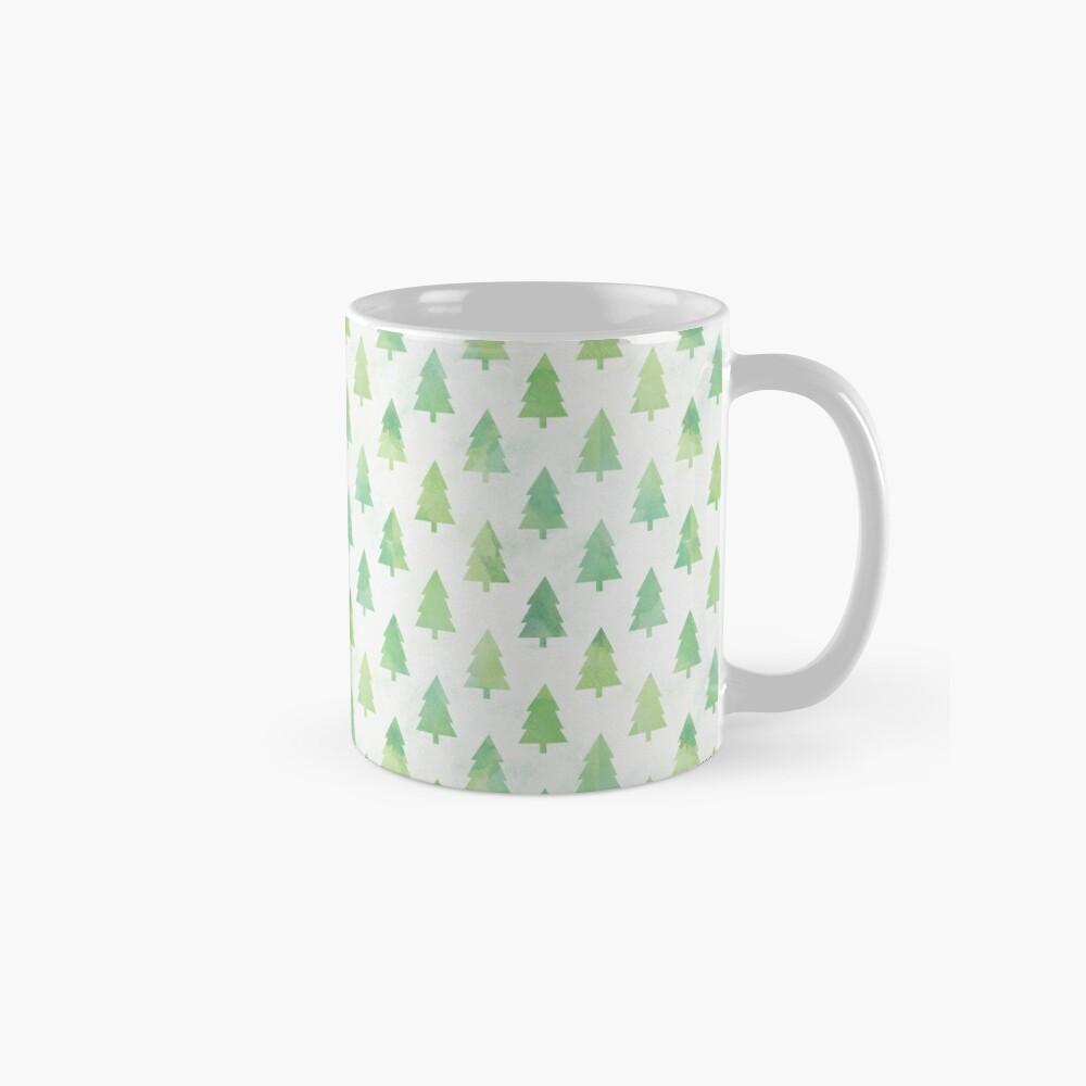 Simple Pine Tree Forest Pattern Mug