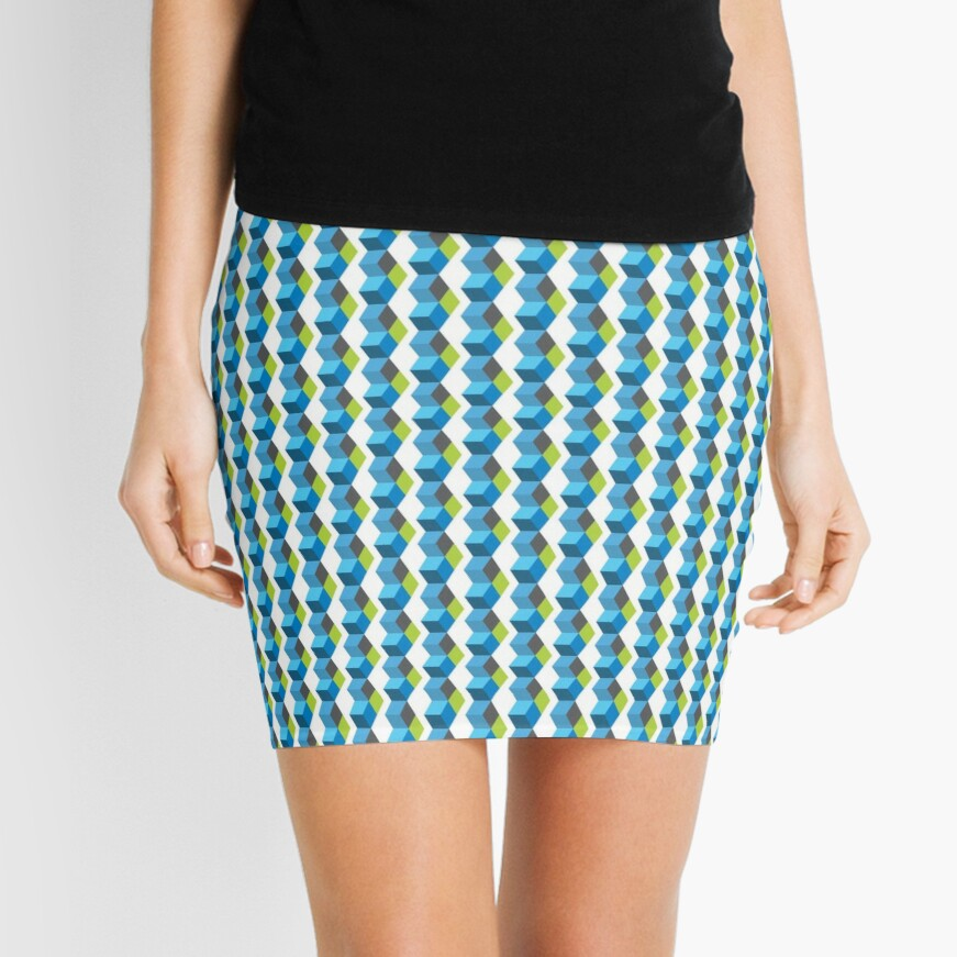 Science Party Australia (Light) Mini Skirt