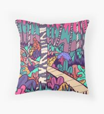 The woodland walk Floor Pillow