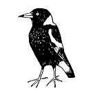 Max the Magpie - Raising funds for BirdLife Australia by Paula Peeters