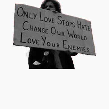 Love not Hate by bamanofski