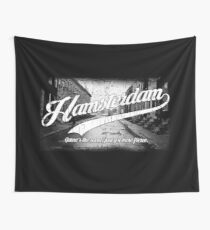 Hamsterdam - Cloud Nine Edition (White) Wall Tapestry